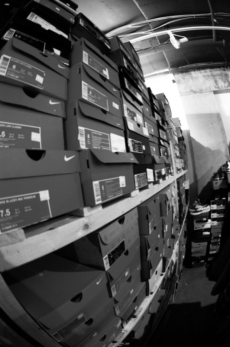 the back stockroom at my old store....  my lil get away #oasis