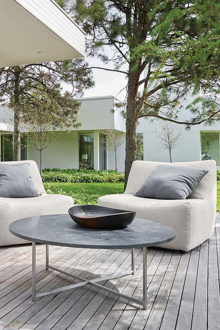 best gardens  outdoor rooms images on pinterest  - maya chair modern outdoor