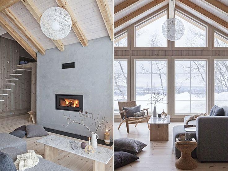 Deilig design i stuen