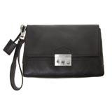 Designer Italian Leather Clutch Bag
