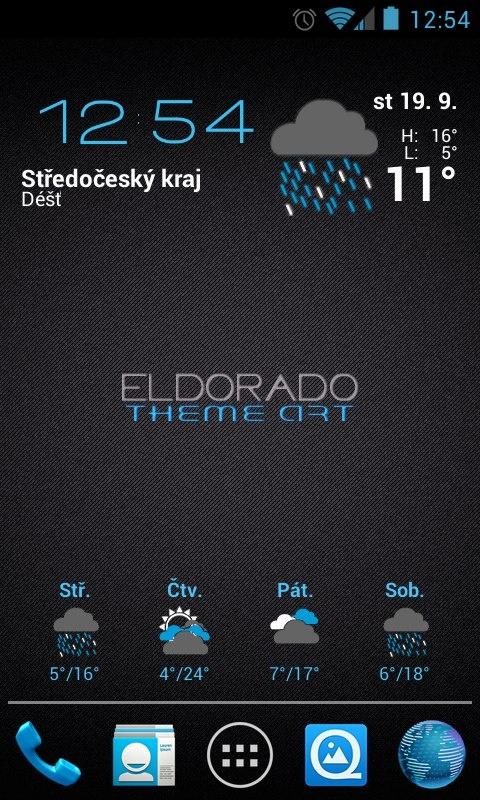 My Android Desktop  Google NEXUS S  More: Google+ search: #eldoradothemeart
