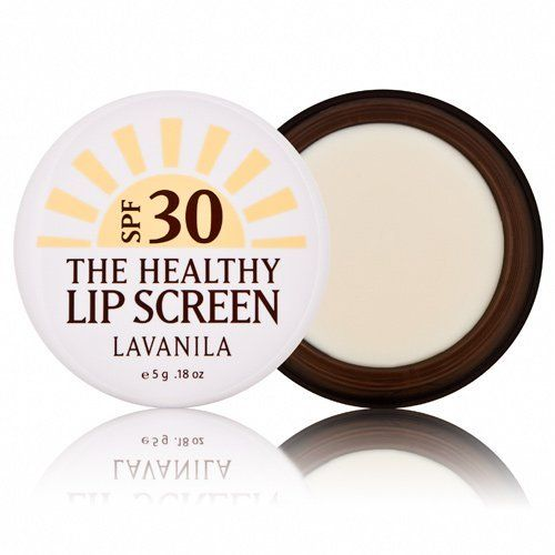 Lavanila The Healthy Lip Screen SPF 30-0.18 oz. by Lavanila. $16.00. This 100% Natural SPF 30 Lip Screen uses a new generation of mineral sunscreen to protect, hydrate, and soften lips. Perfect for sun, wind and snow. Chemical-Free. No Nano-Particles.