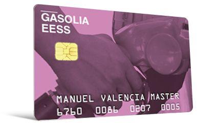 Tarjeta gasolinera embossing   La fábrica de tarjetas pvc