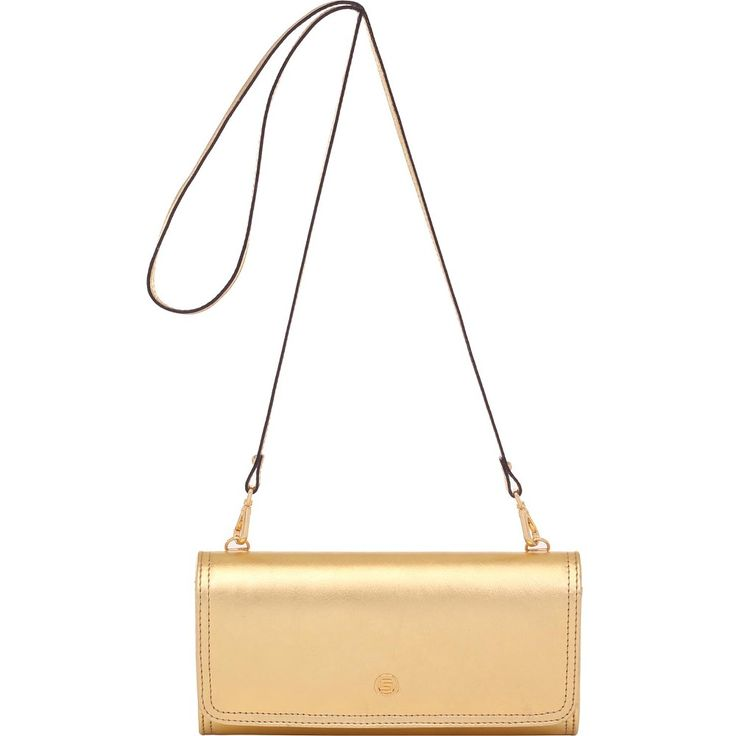 Bolsa Couro Smartbag Metalizado Ouro - 78028 - bolsas para voce