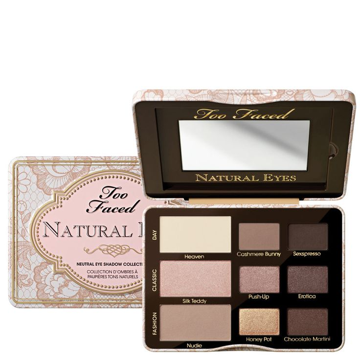 Too Faced Natural Eye 2014 Neutral Eye Shadow Collection