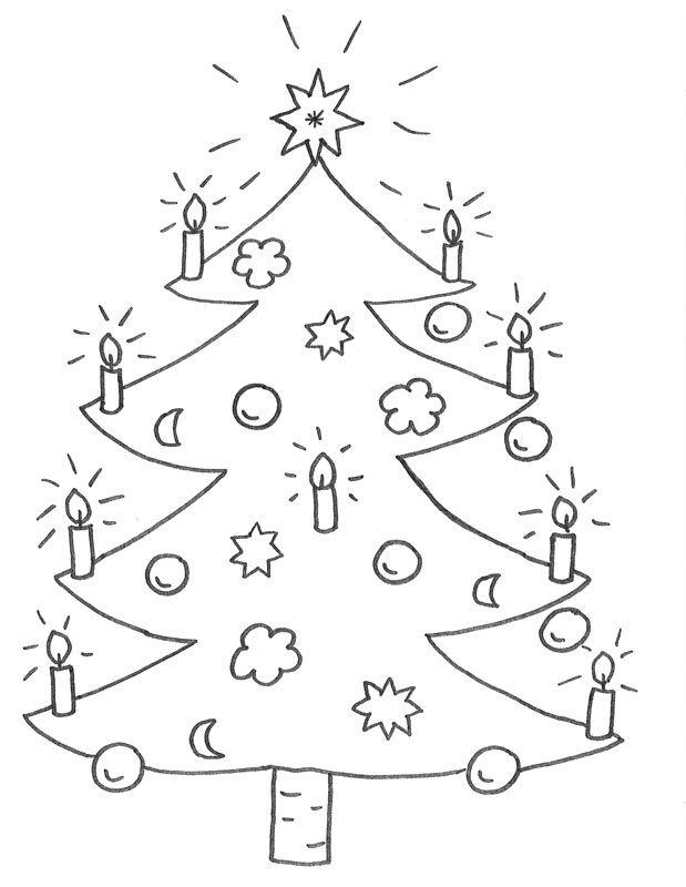 weihnachtsbaum malen http://www.lustigeausmalbilder