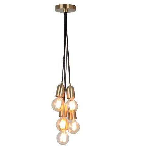 If you're looking for a chic hanging light to brighten up a living space, the Menlo Collection Ceiling Lights from Project 62™ present the perfect solution. The unique design showcases myriad light bulbs bursting out in all different directions for an interesting look everyone will notice. Made from metal and steel and then finished in solid black, these versatile, modern ceiling lights will look stunning hanging in your living room or above your dining table.<br><br>...