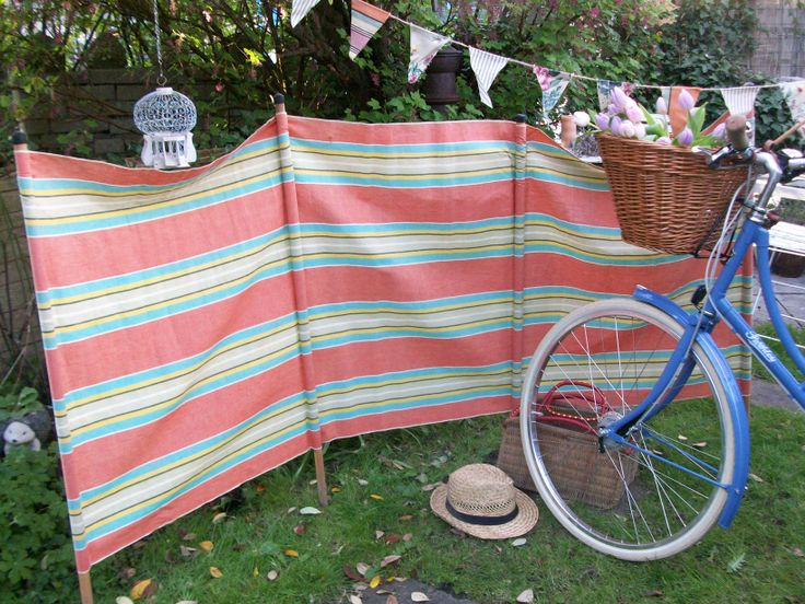 how to make a windbreak for camping