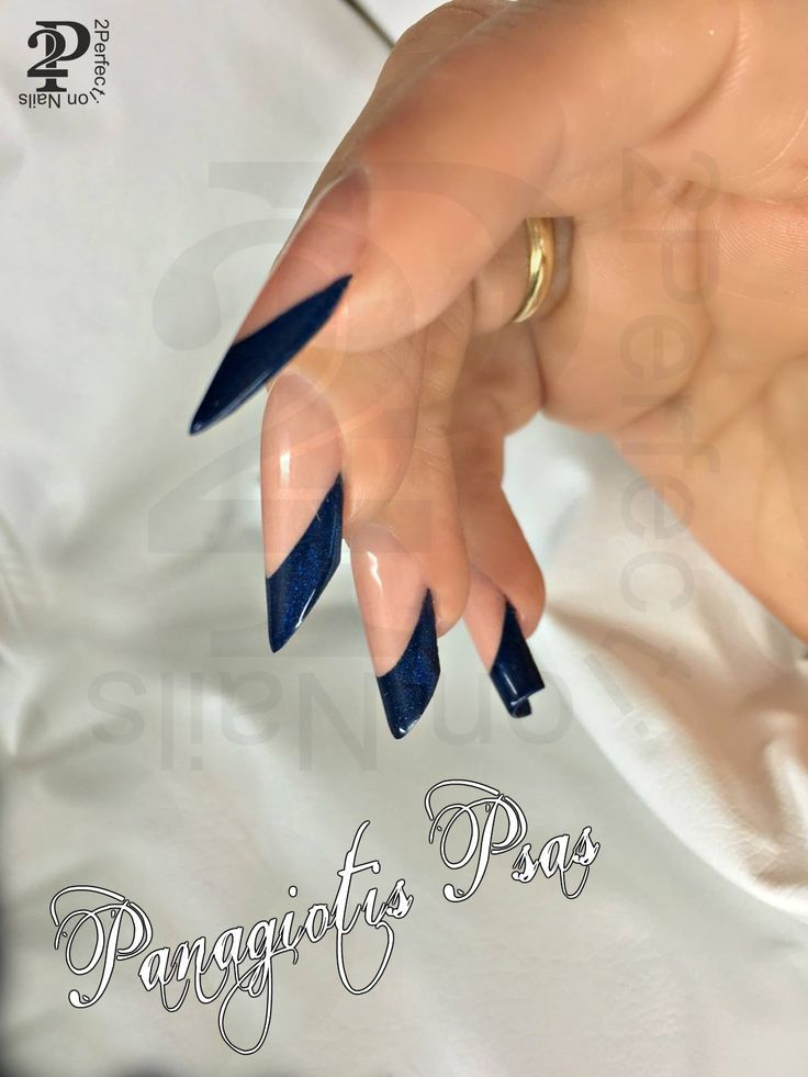 Salon nail shapes  ACRYLIC nails