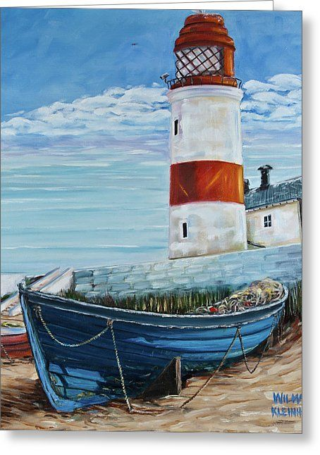 Lighthouse Canvas Print / Canvas Art by Wilma Kleinhans