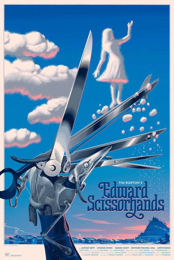 Edward Scissorhands by Laurent Durieux                                                                                                                                                                                 More