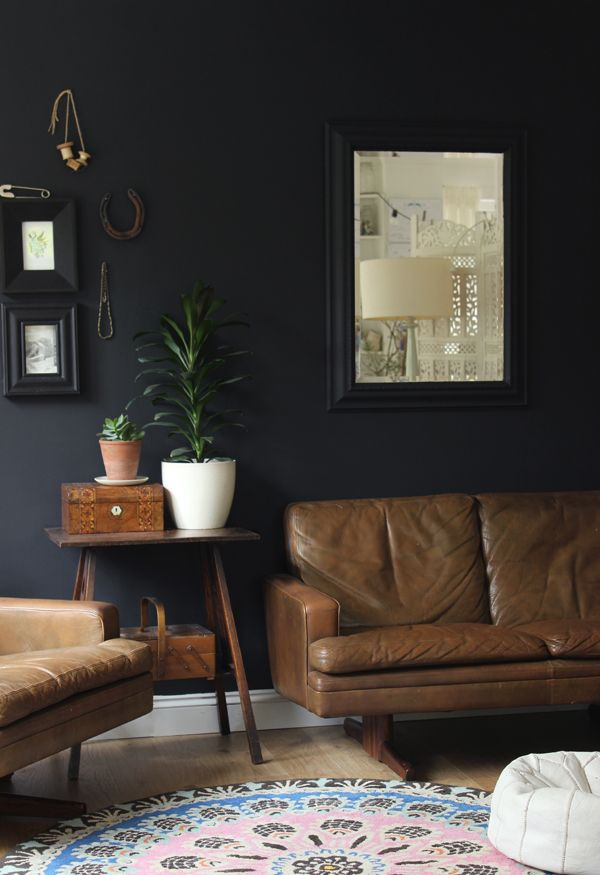 Add depth with a black feature wall | Growing Spaces