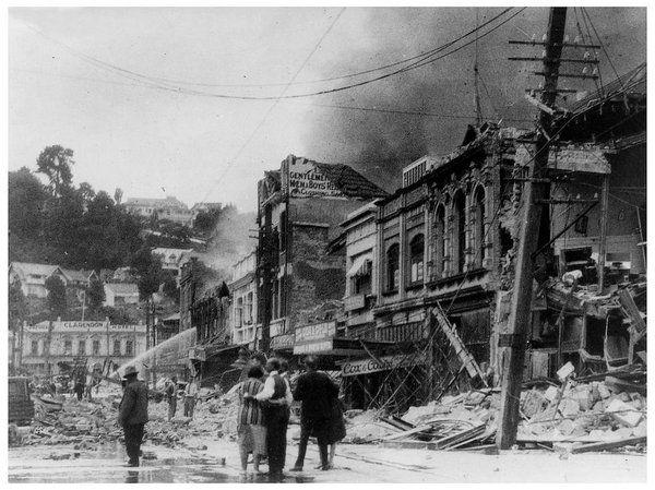Napier turned its tragic past into an architectural wonder #tragedy #1931 #artdeco