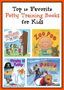 To p10 Favorite Potty Training Books for Kids.  {Do you have a book to add to the list?}