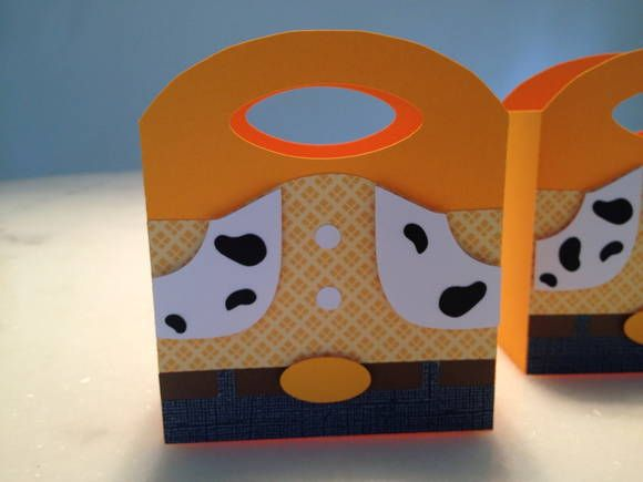 Sacolinha Scrapbooking Toy Story - Woody