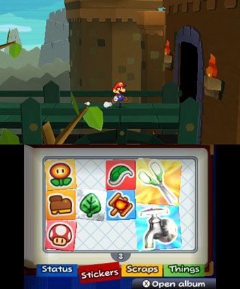 paper mario sticker star 3ds | Paper Mario Sticker Stars en images