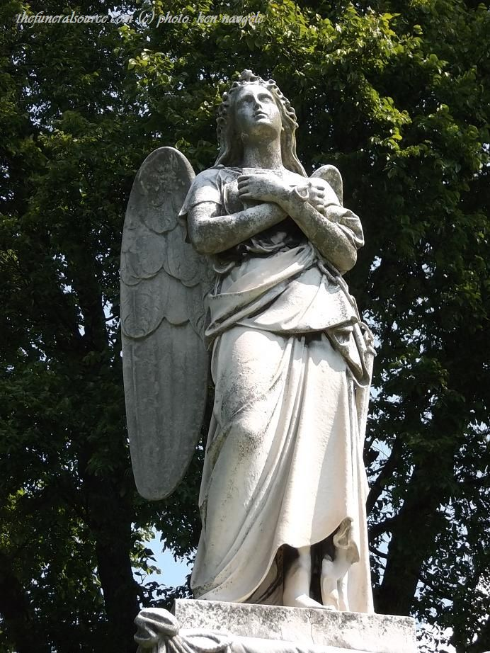 The Neff Marker at the Spring Grove Cemetery, Cincinnati, Ohio (c) The Funeral Source, photo: Ken Naegele