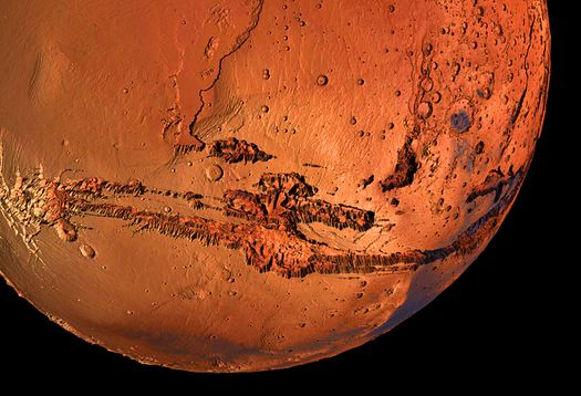 Futurity.org – New evidence suggests giant ocean on Mars
