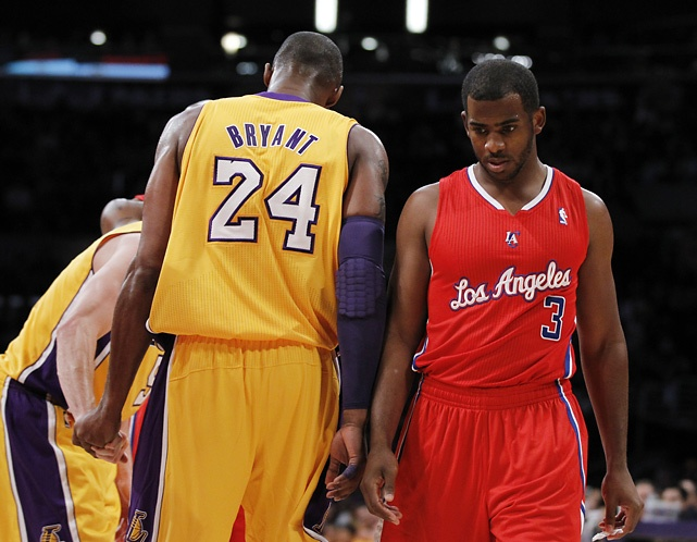 """""""Dude, you should have been a Laker."""""""