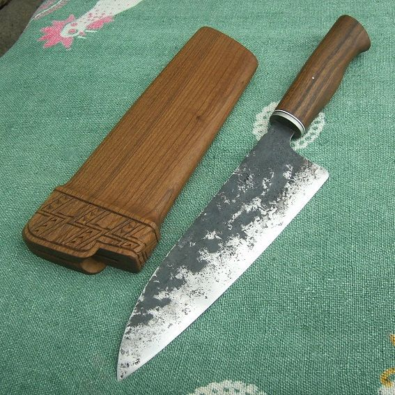 Hand Forged Chef's Knife