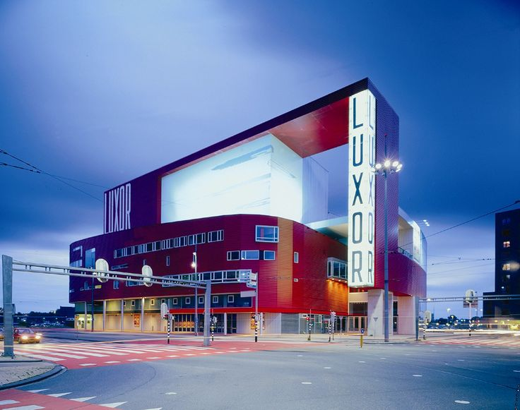 Het nieuwe Luxor theater Rotterdam