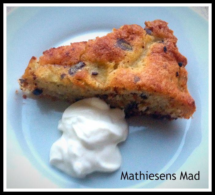 Pærekage med chokolade | Mathiesens Mad