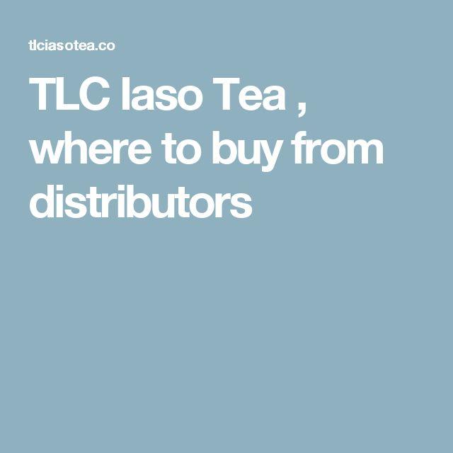 TLC Iaso Tea , where to buy from distributors