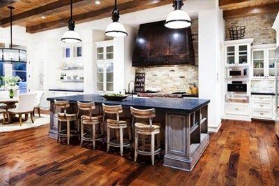 Natural Beautiful Wood Tile Floor Designs | TENKA
