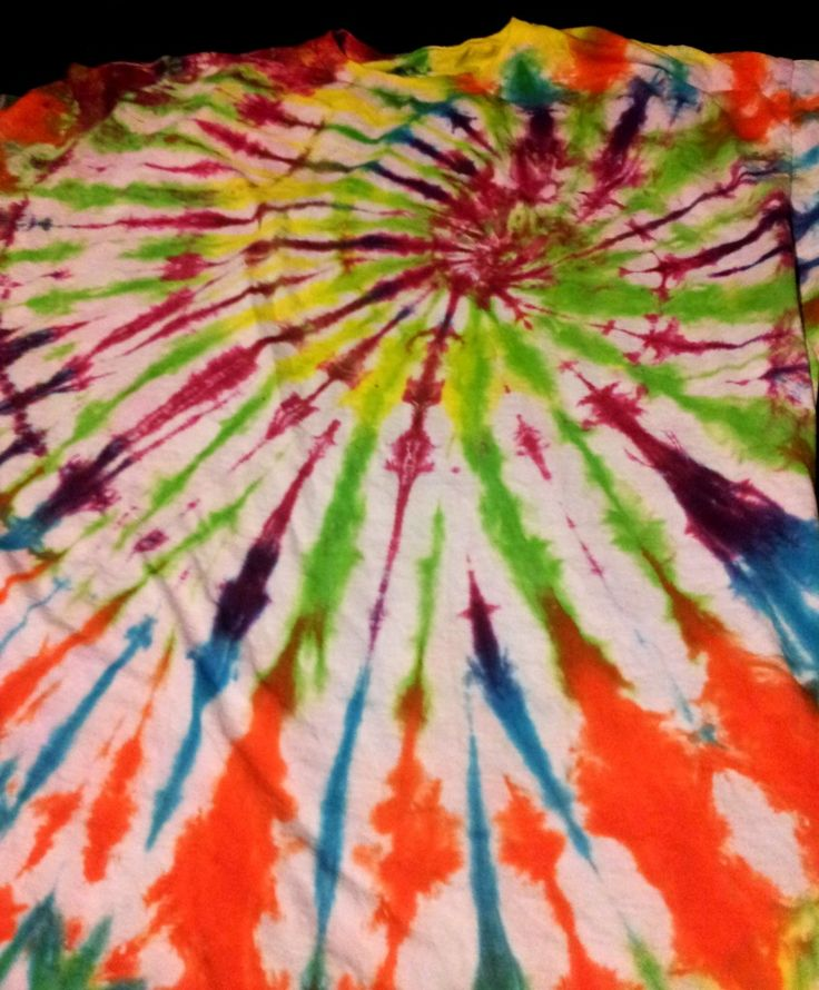 bullseye tie dye patterns instructions