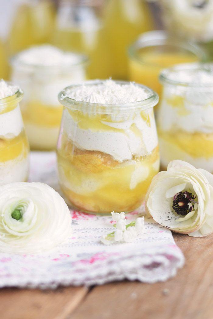 Zitronen Joghurt Tiramisu - Lemon Yogurt Tiramisu | Das Knusperstübchen
