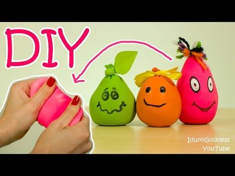 DIY Antistress Ball - How To Make Anti Stress Balls - YouTube