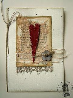 House of Art: Kasiorkowa walentynka / Kasiorka's Valentine card