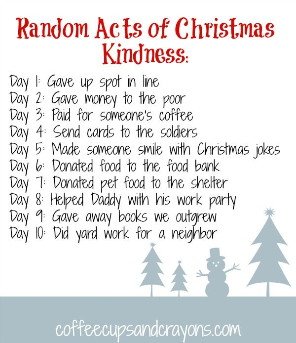 One Random Act Of Kindness At A Time Quote: Christmas Book And Bear Ornament Craft