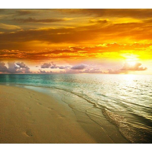 17 beste idee n over strand zonsondergang foto 39 s op pinterest zonsondergangen zonsondergang - Foto van slaapkamer schilderij ...
