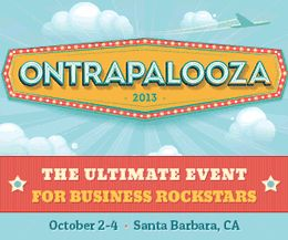 We are so excited to be partnering with Ontraport and Ontrapalooza 2013 in Santa Barbara, CA! We are giving away one FREE ticket ($599 value) to their Business Rockstar Event Oct. 2-4 at the Bacara Resort & Spa! We can't wait to hear your stories about how you've followed your passion...   Visit our Facebook for instructions on how to enter: https://www.facebook.com/sippsoda