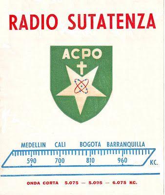 Historia de la Radio en Colombia: Radio Sutatenza, Bogotà. QSL 04/03/1.959. Coleccion de Josè Mauricio Rangel Neira, Cùcuta.