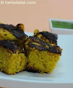 Mixed Dal Handvo ( Gujarati Recipe) recipe   Gujrati Recipes   by Tarla Dalal   Tarladalal.com   #583