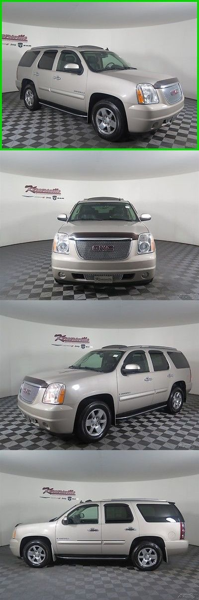 SUVs: 2008 Gmc Yukon Denali Awd V8 Suv Sunroof Heated Leather Seats 185305 Miles 2008 Gmc Yukon Awd Suv 3Rd Row Seating Towing Package Side Steps BUY IT NOW ONLY: $13485.0