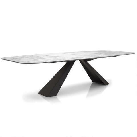 Cantoni Cattelan Italia The Eliot Keramik Dining Table presents a sophisticated look combining a rustic style with a timeless modern design. 4419 1/9/17