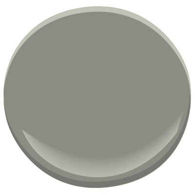 Benjamin Moore AF-710 Secret Paint in a living room. Click thru to ProjectDecor.com to see it.