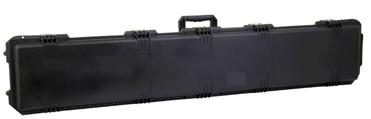 """Heavy Duty Hunting 53"""" Scoped Tactical Rifle  Case with lid foam"""