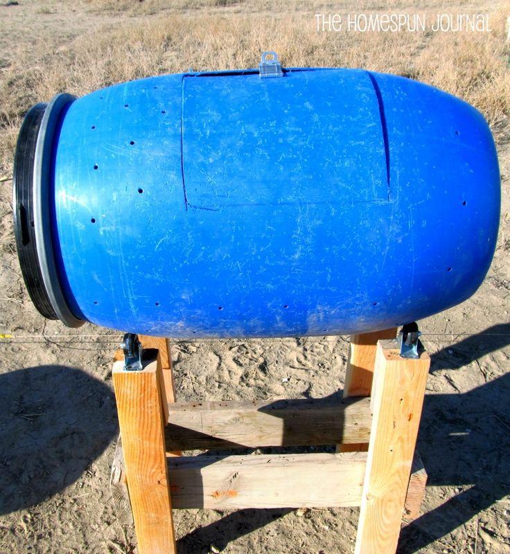 Diy Compost Bin Trash Can: 17 Best Ideas About Food Grade Barrels On Pinterest