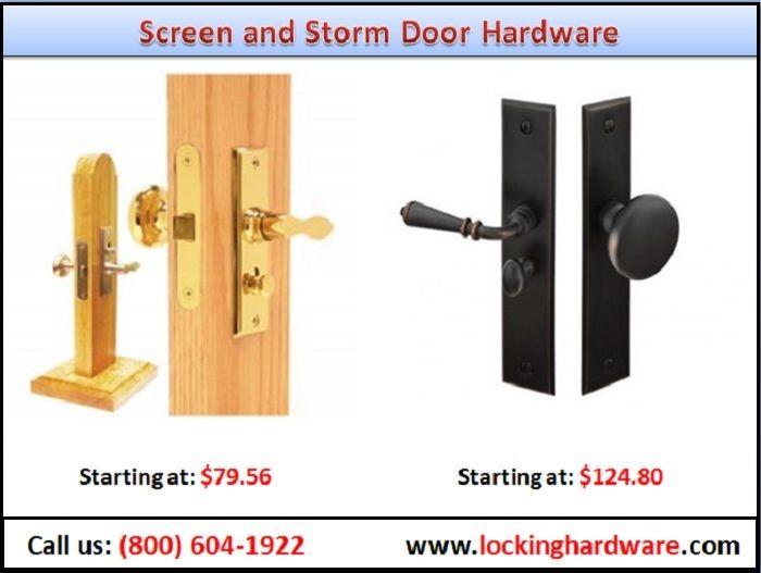 Shop Our Selection Of Screen And Storm Door Hardware Including Screen And Strom Hardware Door Hardw Storm Door Hardware Screen Door Hardware Screen Door Latch