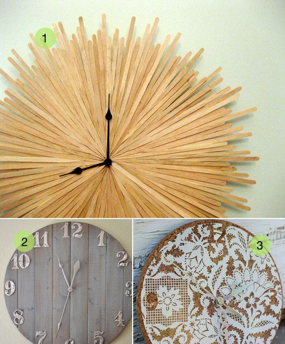 how to make a large clock