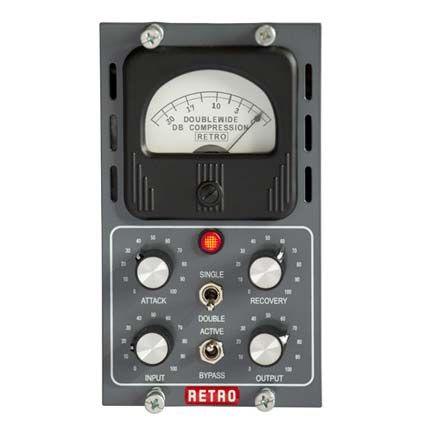 Retro Instruments Doublewide compresor varimu - Serie 500 Audio