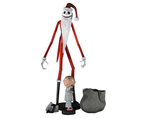 Санта-Джек с мальчиком - Кошмар перед Рождеством