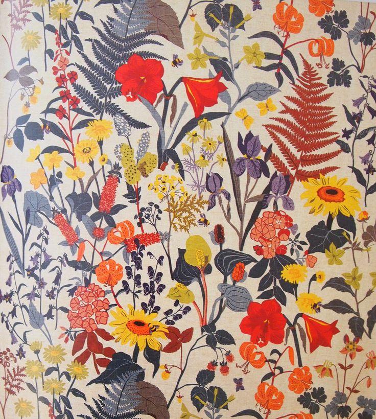Gocken and Lisbet Jobs Swedish textile design 1945
