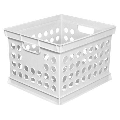 Sterilite Milk Crate White Opens In A New Window 3 99 At