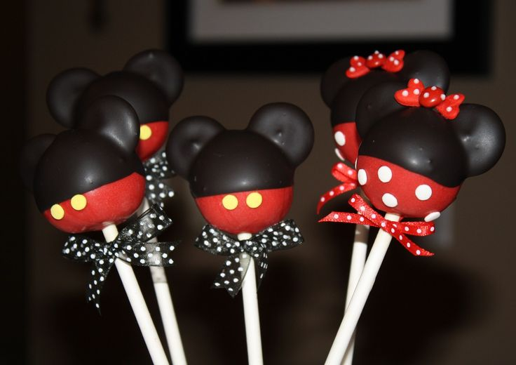 how to assemble and dip minnie cakepops | Cake Pop makers, come in