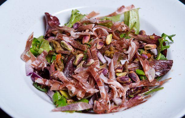 Salata calduta cu linte si fistic | Nicolai Tand